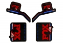Kit Stickers FOX RACING SHOX HERITAGE 2017 Bleu/Blanc/Rouge