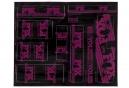 Kit Stickers FOX RACING SHOX HERITAGE 2017 Rose