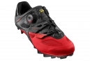 Zapatillas MTB MAVIC Crossmax Elite 2017 Negro Rojo