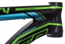 Cuadro Viper Fiery AM 150 27.5'' Negro/Azul + amortiguador FOX