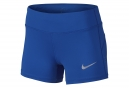 Short Femme NIKE Power Epic Bleu
