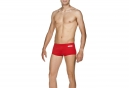 Maillot de Bain ARENA SOLID SQUARED Rouge