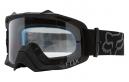 Masque Fox Air Defence Noir Ecran Transparent