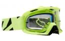 Masque Fox Air Defence Jaune Ecran Transparent