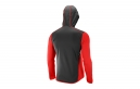 Veste Coupe Vent Salomon Discovery Wind Hoodie Rouge