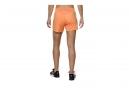 Short Femme Asics FuzeX 14cm Knit Orange