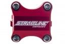 Attacco manubrio STRAITLINE BOXXER Rosso 0° 50 mm