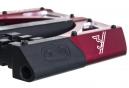 CRANKBROTHERS Paire de Pédales Plates 5050 Rouge/Noir