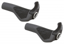 ERGON Grips with Bar End GS2 Black
