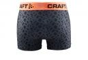 Boxer Homme Craft Greatness 3´´ Noir Orange Motif