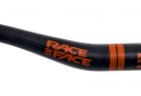 Cintre RACEFACE Sixc Carbone 35x800 mm Relevé 20mm Noir/Orange