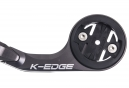 K-EDGE Support guidon long pour Garmin Edge 1000 Gris