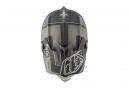 Casque Intégral Troy Lee Designs D3 Carbon Starburst Mips Argent Noir 2017