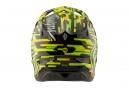 Casco Integral Troy Lee Designs D3 Carbon Code Noir / Jaune