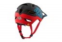Casco Troy Lee Designs A1 Classic Mips Negro Rojo