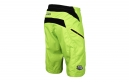 Short Troy Lee Designs Moto Jaune Fluo 2017
