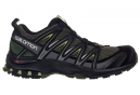 Chaussures de Trail Salomon XA PRO 3D Noir / Vert