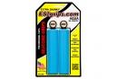 Paire de Grips Silicone ESI Extra Chunky 34mm Bleu