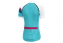 Maillot Manches Courtes Gore Bike Wear Power Lady CC Bleu Blanc