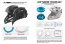 Casque Intégral Leatt DBX 5.0 Composite Noir Bleu Blanc