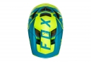 Casco Integral Fox Proframe Moth Bleu / Jaune