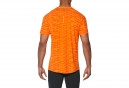 Maillot Manches Courtes Asics Fuzex Seamless Orange