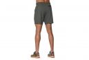 Short Running Asics Elite 17cm Gris