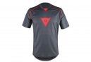 Maillot Manches courtes Dainese Riding Gris Rouge