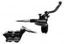Hope Freno de disco trasero Tech 3 V4 Manguera estándar negra Sin rotor