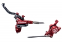 HOPE Frein Avant TECH X2 Red Edition Durite Aviation - Sans Disque Sans adaptateur