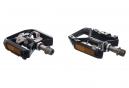 Par de pedales semiautomáticos SHIMANO XT PD-T8000 Negro