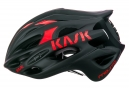 Casque Kask Mojito Limited Noir Mat Rouge
