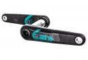 Manivelles RACE FACE Sixc Carbon (sans boitier) Noir/Turquoise