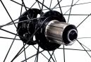 HALO Roue Arrière 26´´ SAS 6-Drive Spin Doctor 36 rayons 9mm QR Noir