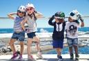 CRAZY SAFETY 2016 Casque Enfant ZEBRE S (49-55) 3 à 6 ans