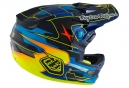 Casco Integral Troy Lee Designs D3 CARBON Bleu / Jaune