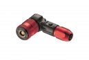 LEZYNE Floor Pump Steel Floor Drive Red