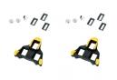 Shimano Cales par vial SMSH11 SPD SL AMARILLO 6 °