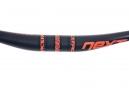 Cintre RACEFACE NEXT Carbone 35x760 mm Relevé 20mm Noir Orange