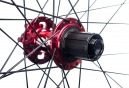 Paire de Roues SPANK Spoon 32 26'' Axes 20x110 / 12x150mm Shimano/Sram Rouge