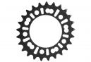 ROTOR Q-Ring XC2 MTB Oval Chainring 74mm Black