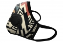 Masque Anti-pollution VOGMASK N99CV GEOMETRY Beige