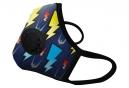 Masque Anti-pollution VOGMASK N99CV LIGHTNING Bleu