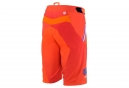 Short avec Peau 100% Airmatic Blaze Orange