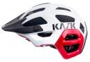 Casque VTT KASK 2017 Rex Blanc Rouge