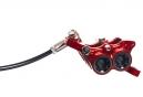 Frein Arriere HOPE Tech 3 E4 Rouge Durite Standard Levier a Droite