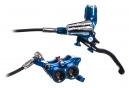 Freno delantero HOPE Tech 3 E4 (sin disco) Manguito Estándar Azul