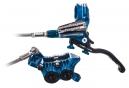 Manguera trenzada HOPE Front Break Tech 3 V4 azul - Sin rotor