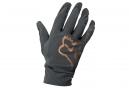 Fox Flexair Long Gloves Black Gold