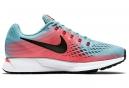 Chaussures de Running Femme Nike Air Zoom Pegasus 34 Bleu / Rose